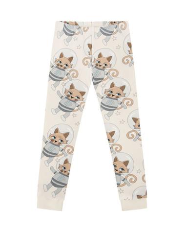 Astrocat light kids sleepwear top+bottom