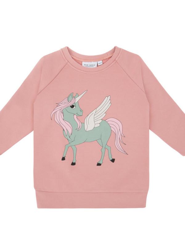 Pegasus pink sweatshirt