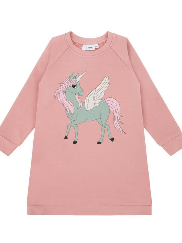 Pegasus pink tunic dress
