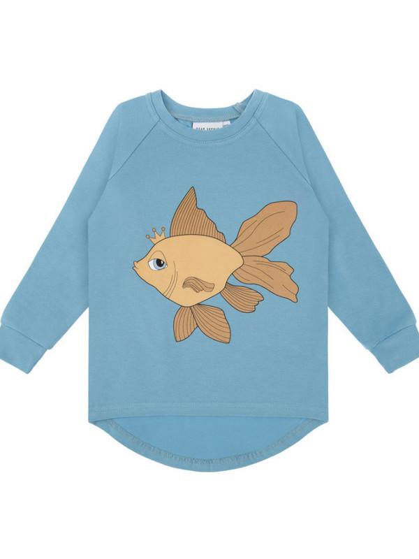 Goldfish blue longsleeve