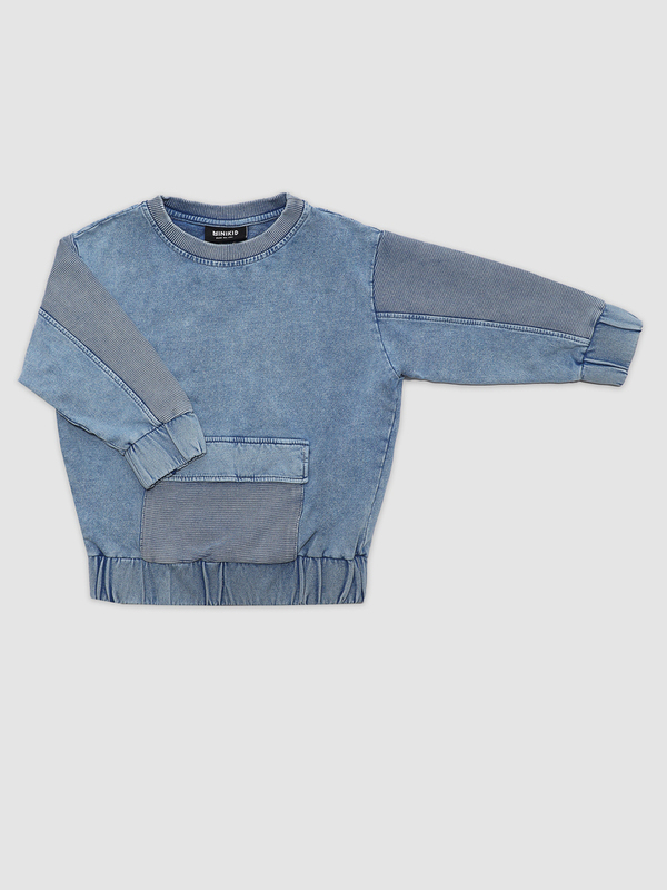 Marmo blue sweatshirt