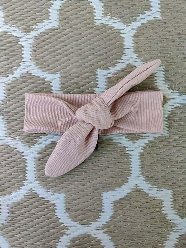 Haarband roze rib