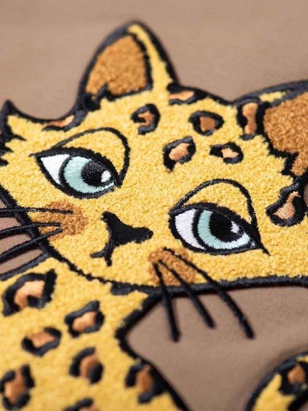 Gepard brown bomber jacket