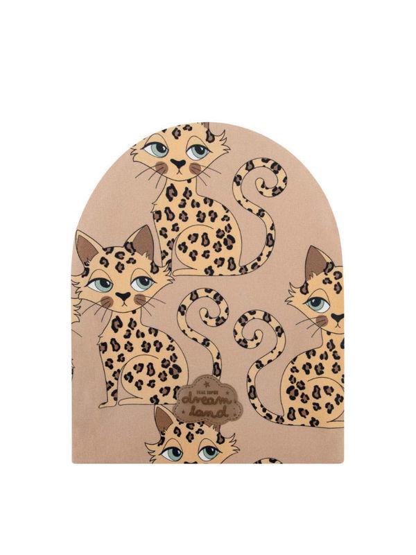 Gepard brown beanie