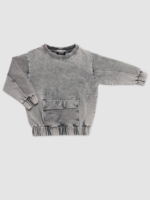 Marmo grey sweatshirt