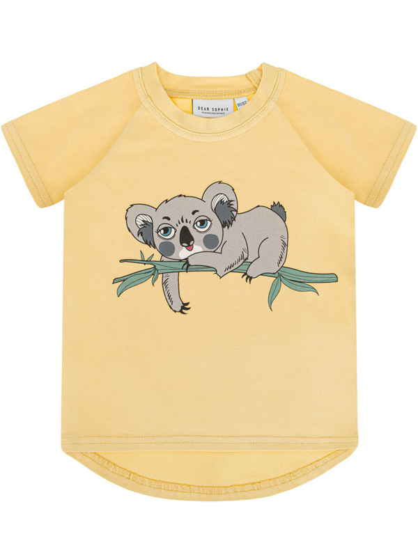 Koala pale yellow T-shirt