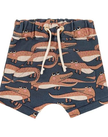 Crocodile navy short